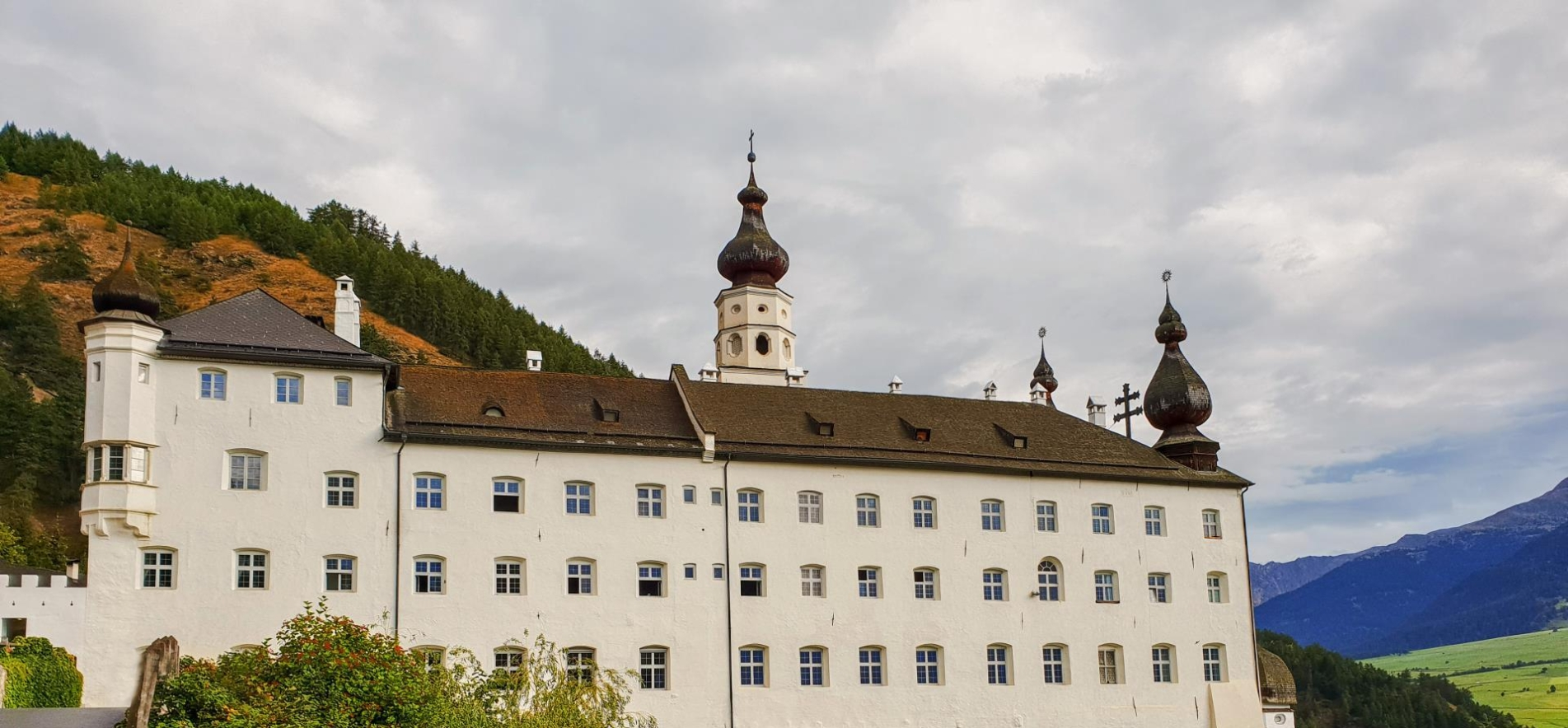 Abbey Marienberg - It is a place of peacefulness and strength